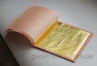 купить сусальное золото 23,75к, Manetti, 90мм*90мм, 25 листов, хорошая цена