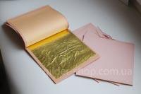 Сусальное золото киев 23,75к, Manetti, 90мм*90мм, 25 листов