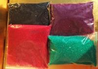 Феррарио крошка-фольга Craft Star, Маджента, Фиолетовый, Зеленый, Черный