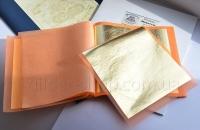 Трансферная поталь, Поталь итальянская золото, золотая итальянская трансферная поталь  Giusto Manetti 25 листов