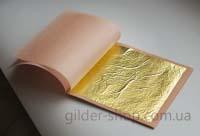 Манетти, сусальное золото 23,75к, 25 лист.