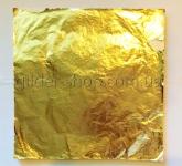 Поталь золото, серебро, размер листа 14см на 14см, каждый лист переложен калькой