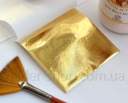 Зеркальная поталь 2.5 (страндартный золотой оттенок)