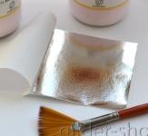 Зеркальная поталь 3 (чистое серебро)