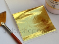 Зеркальная поталь 4 (светлое холодное золото)